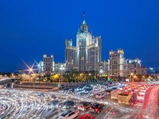 обои Дом на набережной. Москва фото