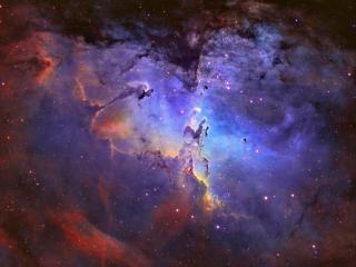 обои Туманность Орла и Столпы Творения фото