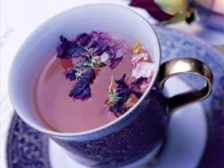обои Цветочный чай фото