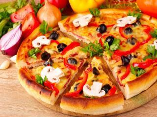 обои Пицца домашняя фото