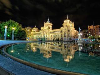 обои Площадь Соррильи. Вальядолид. Испания фото