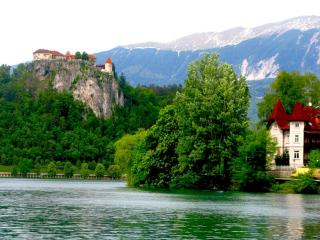 обои Окрестности озера Блед в Словении фото
