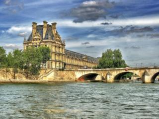 обои Париж - вид с Сены фото