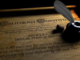 обои Калифорнийская конституция фото