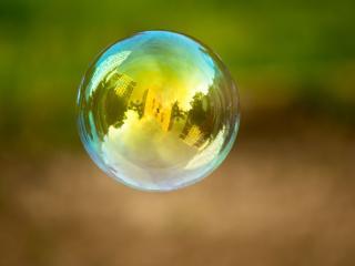 обои Роскошный мыльный пузырь фото