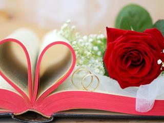 обои для рабочего стола: Атрибуты свадьбы