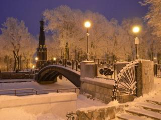 обои для рабочего стола: Старый Смоленский парк