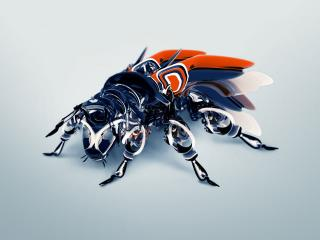 обои Непонятная муха фото