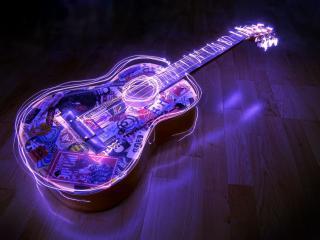 обои Акустическая гитара фото