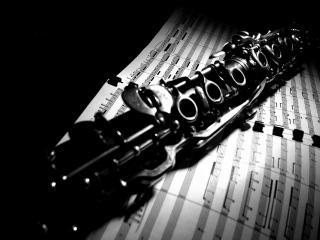 обои Кларнет музыкальной фото