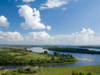 обои Величественная река фото