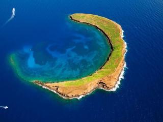 обои Кратер Молокини,   Гавайи фото