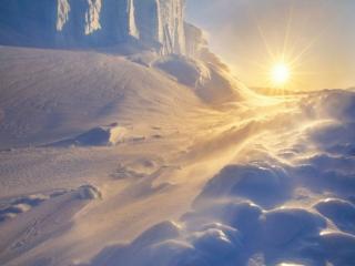 обои Снег,   мороз и солнце фото
