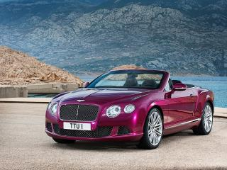 обои Bentley Continental GT 2014 года фото
