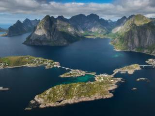 обои Лофотенские острова фото