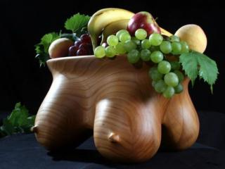 обои Натюрморт - Ваза с фруктами фото