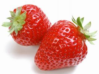 обои Сочные ягоды клубники фото