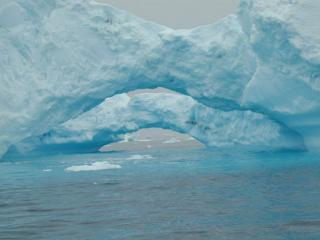 обои Двойной айсберг фото