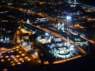 обои Ночная Казань фото