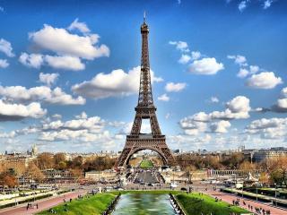 обои Париж - это Эйфелева башня фото