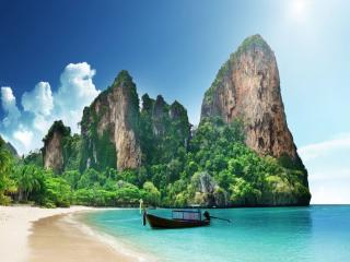 обои Пляж Railay в Таиланде фото