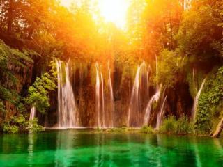 обои Водопады Хорватии фото
