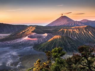 обои для рабочего стола: Обитель вулканов