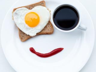 обои Позитивный утренний натюрморт фото
