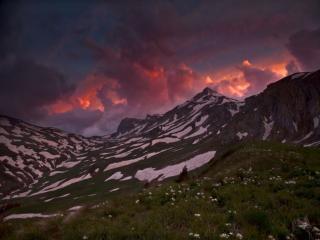 обои Весна в горах фото
