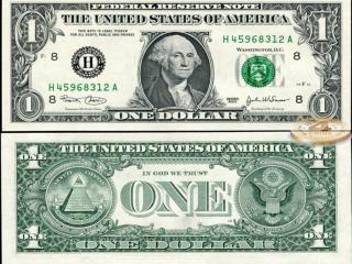 обои Один доллар фото