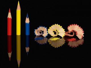 обои Остро заточенные карандаши фото