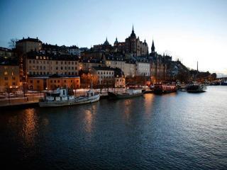 обои Вечерний Стокгольм фото