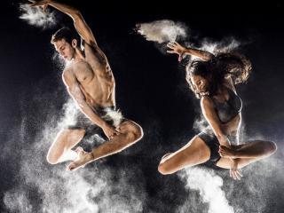 обои Парный танец фото