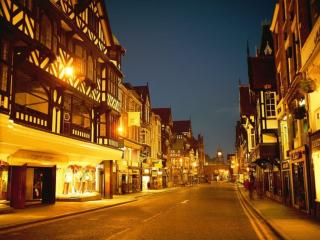 обои Улица ночного города фото