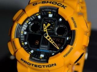 обои Модные часы оранж фото