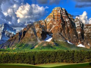 обои Ослепительная красота гор фото