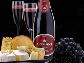 обои Виноград,   вино и сыр фото
