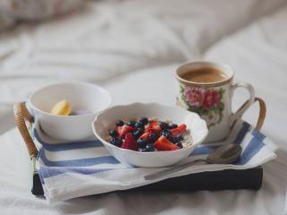 обои Завтрак в постель фото