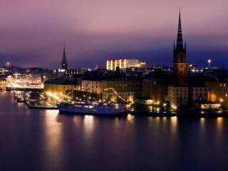 обои На берегу Стокгольма фото