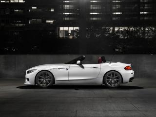 обои Белый кадилак BMW Rodster фото