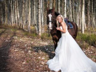 обои Весенняя невеста фото