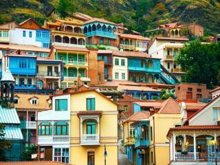обои Яркие краски Тбилиси фото