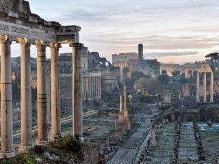 обои Развалины древнего города фото