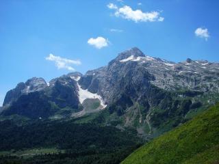обои Горы и голубое небо фото