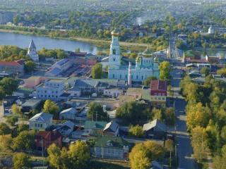 обои Старинный город Сызрань фото