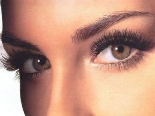 обои для рабочего стола: Светло-карие глаза