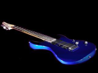 обои Синяя гитара фото