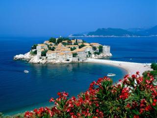 обои Остров Святого Стефана. Черногория фото