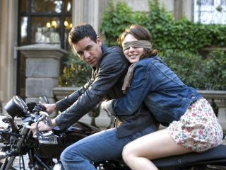 обои Поездка на мотоцикле фото