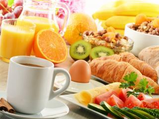 обои Продукты к сытному завтраку фото